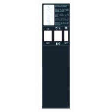 7.41 F218/5  Sticker Control Panel 1