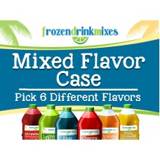 Mixed Flavor Case Frozen Mix Concentrate (New)