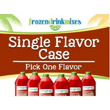 Single Flavor Case Frozen Mix Concentrate